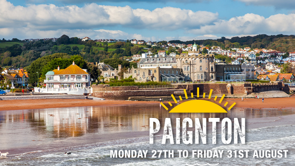 CLICK HERE for more information on the Paignton holiday