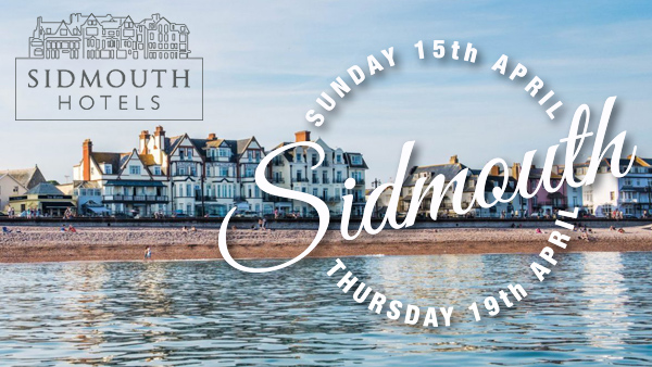 CLICK HERE for more information on the Sidmouth holiday
