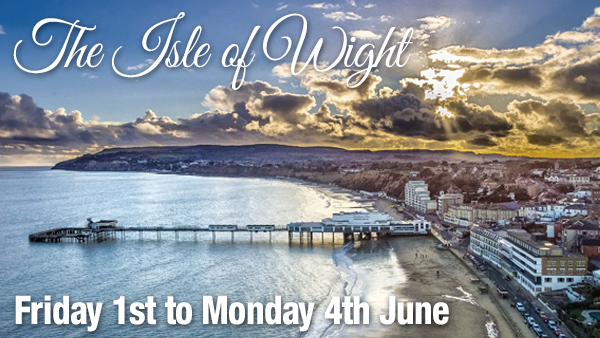 CLICK HERE for more information on the Isle of Wight holiday