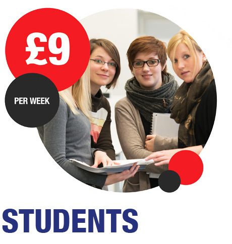 Student deal for unlimited travel