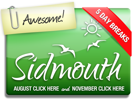 Click here for Sidmouth holidays