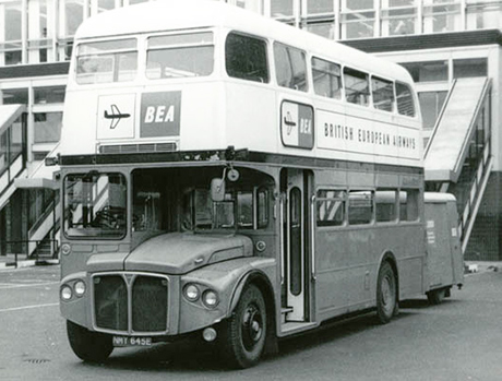 Routemaster BEA45 RM22