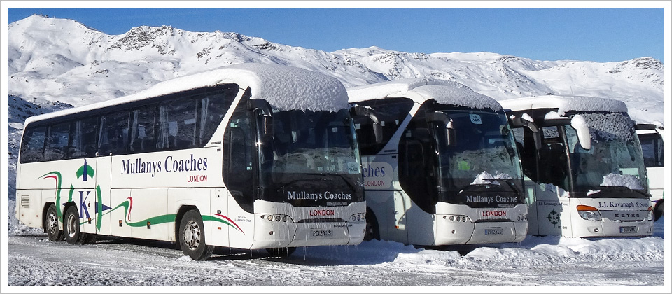 Mullanys Coaches away on ski
