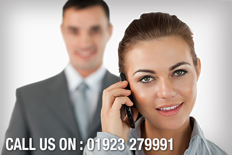 Call us on 01923 279991