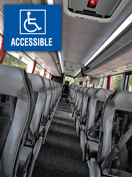 55 seat accessible vehicle